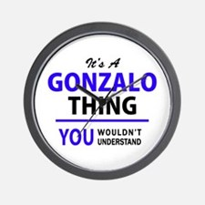 It's GONZALO thing, you wouldn't unders Wall Clock