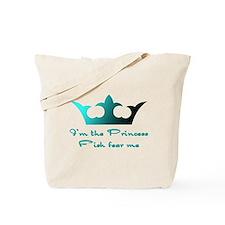 Fishing Princess2 Tote Bag