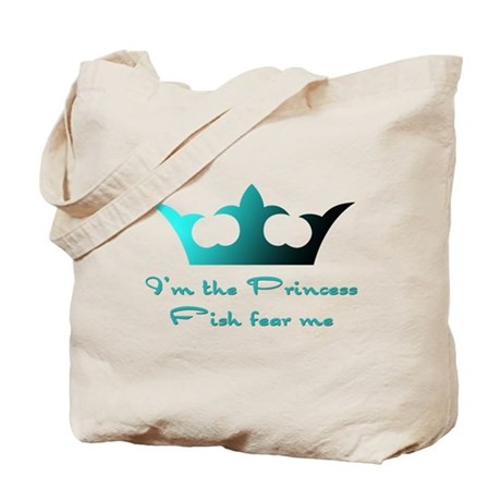 Fishing Princess2 Tote Bag