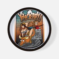 Funny Sexy cowboy Wall Clock
