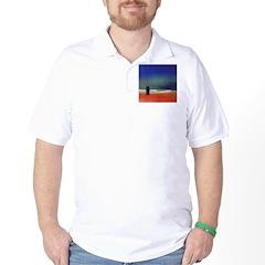 62.rainbow serpent.. Golf Shirt