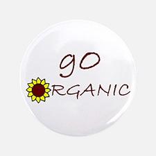 """go organic 3.5"""" Button"""