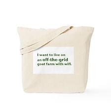 Unique Farming Tote Bag