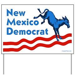 New Mexico Democrat Lawn Sign
