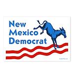 New Mexico Democrat Postcards