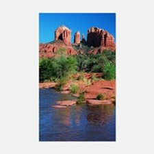 Cathedral Rock, Sedona Rectangle Decal