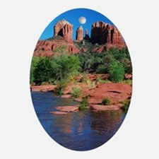 Cathedral Rock, Sedona  Oval Ornament