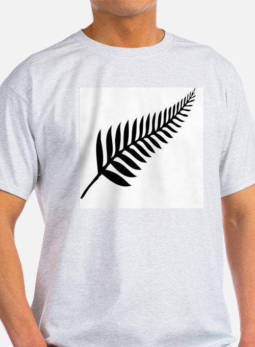 New zealand silver fern t shirts shirts tees custom for Silver jeans t shirts