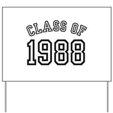 Class of 1988 Yard Sign