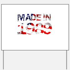 Made In USA 1989 Yard Sign