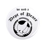 Department of Peace Large Button