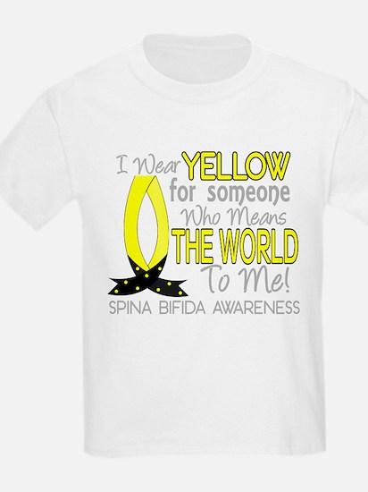 Spina Bifida MeansWorldToMe1 Women's Dark T-Shirt