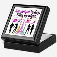 #1 ACCOUNTANT Keepsake Box
