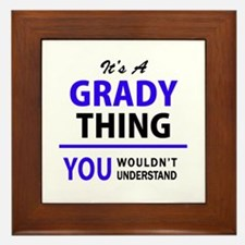 It's GRADY thing, you wouldn't underst Framed Tile
