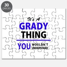 It's GRADY thing, you wouldn't understand Puzzle