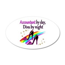 #1 ACCOUNTANT Wall Decal
