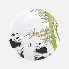 "Panda Bamboo 3.5"" Button"