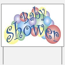 Baby Shower Yard Sign
