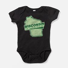 Cute Funny vintage Baby Bodysuit