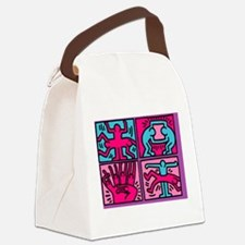 Cute Pop culture Canvas Lunch Bag