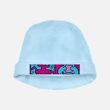 pop art baby hat