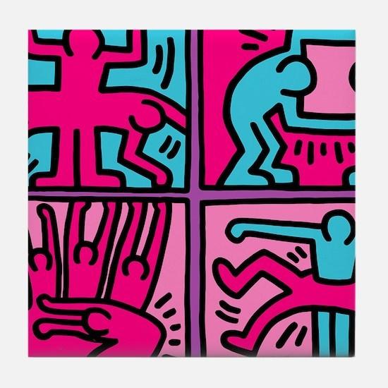pop art Tile Coaster