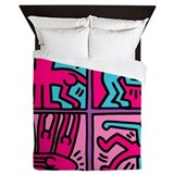 Pop art Queen Duvet Covers