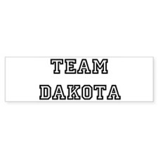 TEAM DAKOTA Bumper Bumper Sticker