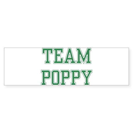 TEAM POPPY Bumper Sticker