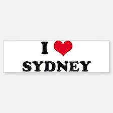 I HEART SYDNEY Bumper Stickers