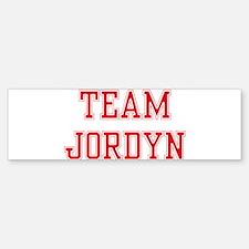 TEAM JORDYN Bumper Bumper Bumper Sticker
