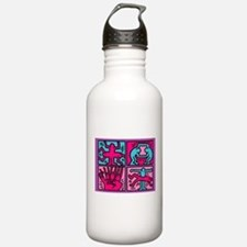 pop art Water Bottle