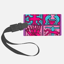 pop art Luggage Tag