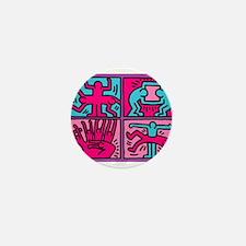 pop art Mini Button (100 pack)
