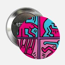 """pop art 2.25"""" Button"""