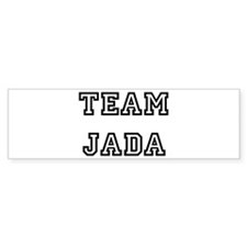 TEAM JADA Bumper Bumper Sticker
