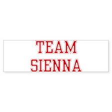 TEAM SIENNA Bumper Bumper Sticker
