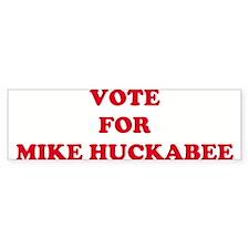 VOTE FOR MIKE HUCKABEE Bumper Bumper Sticker