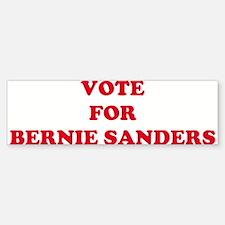 VOTE FOR BERNIE SANDERS Bumper Bumper Bumper Sticker