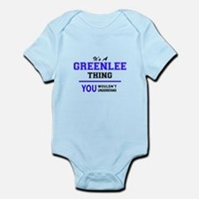 It's GREENLEE thing, you wouldn't unders Body Suit