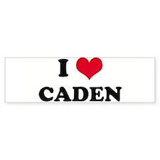 I HEART CADEN Bumper Bumper Sticker