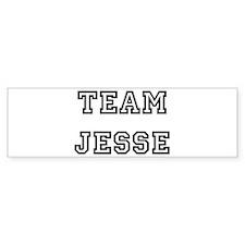 TEAM JESSE Bumper Bumper Sticker