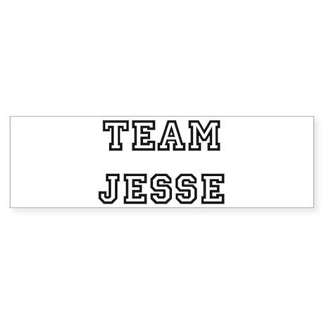 TEAM JESSE Bumper Sticker