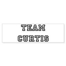 TEAM CURTIS Bumper Bumper Sticker