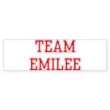 TEAM EMILEE Bumper Bumper Sticker