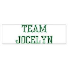 TEAM JOCELYN Bumper Bumper Sticker