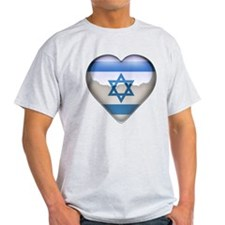 Israel Heart T-Shirt