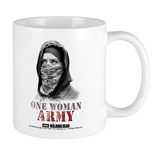 One Woman Army Mug Mugs