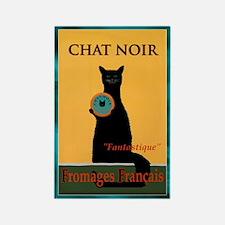 Chat Noir Fromages Francais Magnet