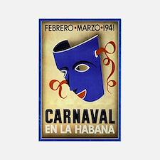 Cuba vintage carnaval magnet